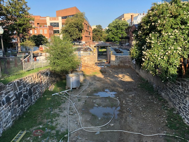 Georgetown C&O Canal Restoration Project