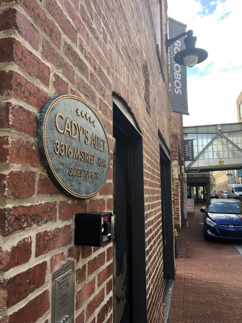 Cadys Alley Georgetown