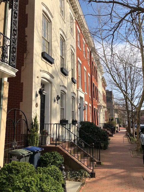 Historic Homes in Georgetown