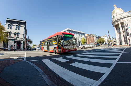 Getting Around Georgetown and D.C. via Public Transportation